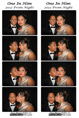 "07/20/2012 Prom NIght ""One In Him"" PhotoStrips"