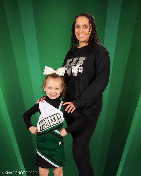 2020 Warminster Pioneers Competition Cheer