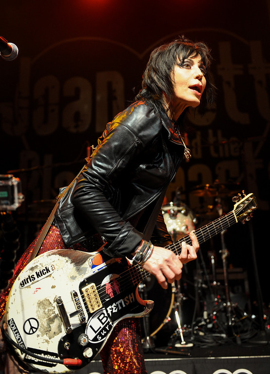 . Joan Jett and the Blackhearts show at the House of Blues as part of the Sunset Strip Music Festival, Thursday, August 1, 2013. (Michael Owen Baker/L.A. Daily News)