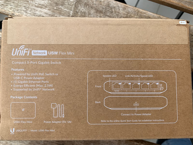 Ubiquiti Flex Mini 5 Port Switch