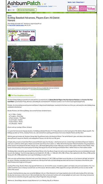 Bulldog Baseball Advances, Players Earn All-District Honors - Ashburn, VA Patch.png