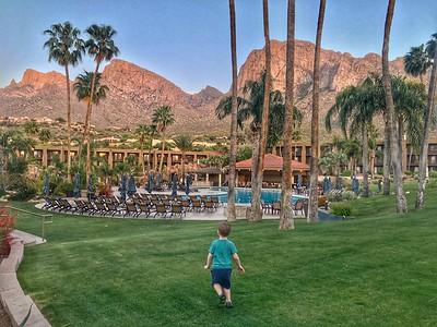 Emmit Visits Tucson
