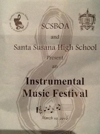 Colina Symphonic Band at Festival