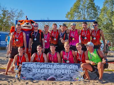 NK Beach Handbal 2018 Prijsuitreiking