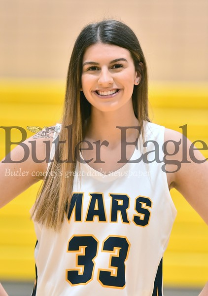 Mars Girls Basketball #33 Bella Pelaia