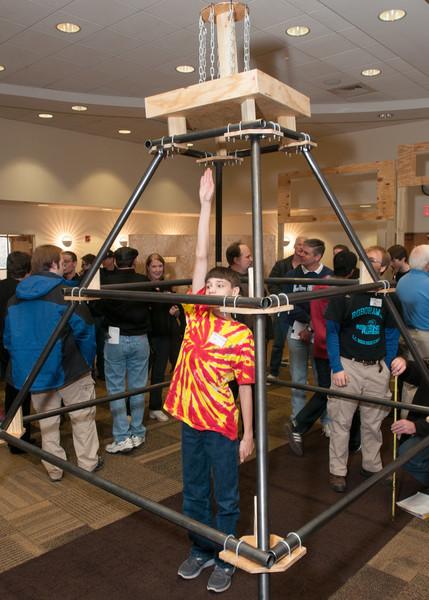 FIRST Robotics 2013  Kick Off at VCU 1-5-13
