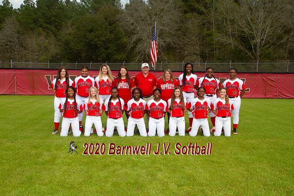 2020 JV Softball