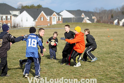 Youth Sports: Football: Resolution Bowl