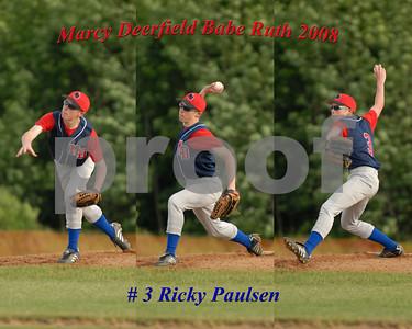 Paulsen # 3 Marcy Deerfield Babe Ruth 2008