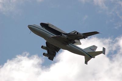Shuttle Fly-By 4-27-12