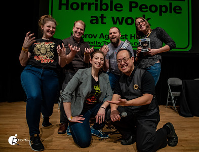The Fictionals:  Improv Against Humanity  23-Mar-2019