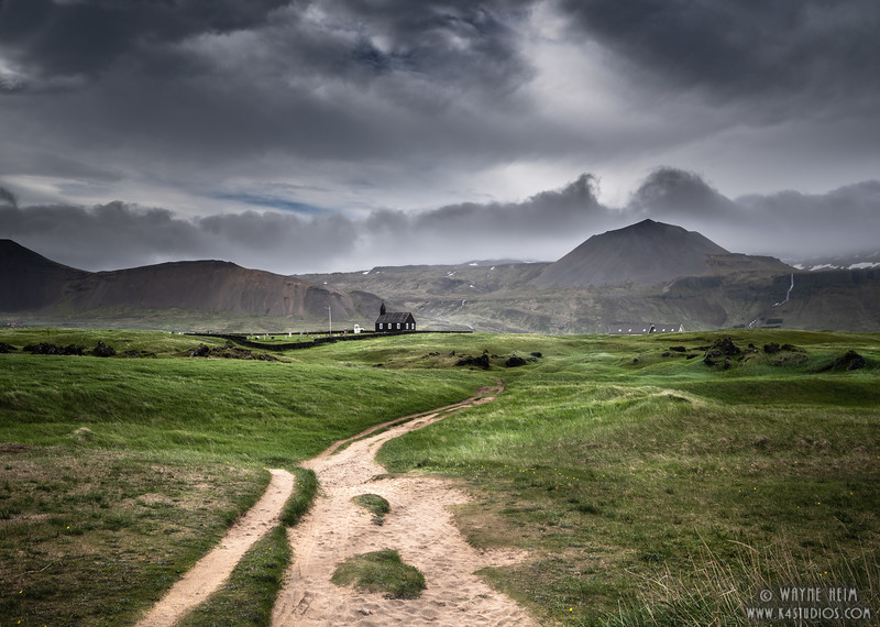 Long Path to Church    Photography by Wayne Heim