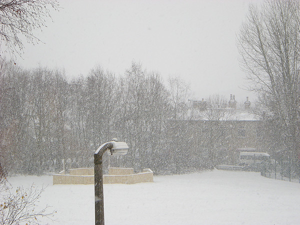 Low Moor Snowfall 2009-2010