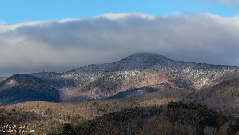 Mount Ascuntney in April
