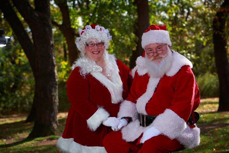 Santa & Mrs Clause