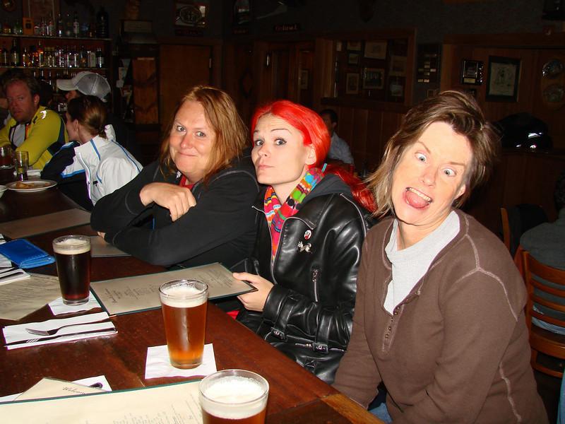 The Girls at Duarte's bar