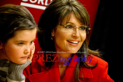 Sarah Palin America By Heart Book Signing