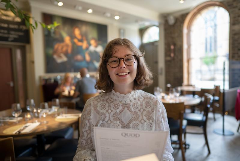 Dinner at The Quod Restaurant, Oxford