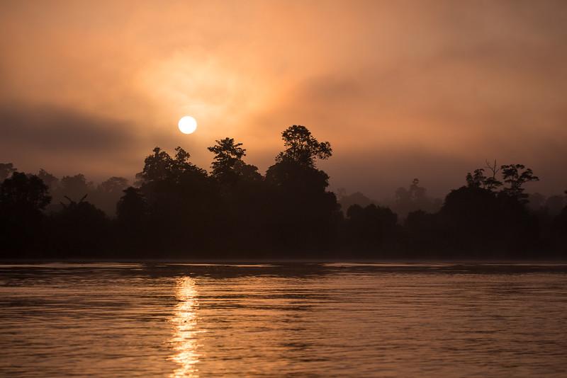 Sunrise On The Kinabatangan