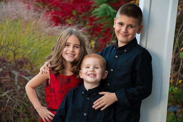Jaxon, Ethan, & Calli Holiday Photos