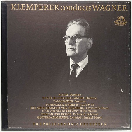 Angel Records 3610 B Klemperer Conducts Wagner (Box, Album, Mono + 2xLP)