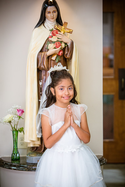 St. Therese 1st Communion 5-19-18 2:00 Mass