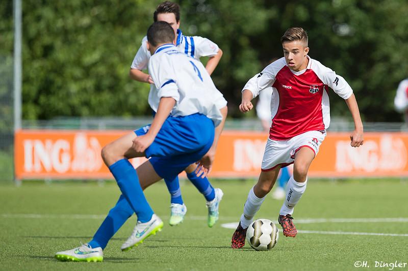 19-09-2015: Voetbal: BVCB B1-Alexandria '66 B2