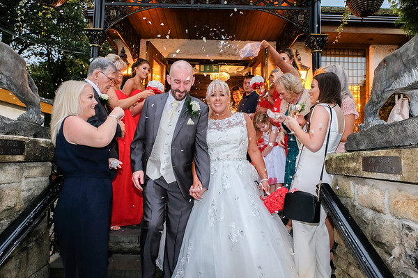 Wedding Photography - The Royal Toby Hotel Rochdale