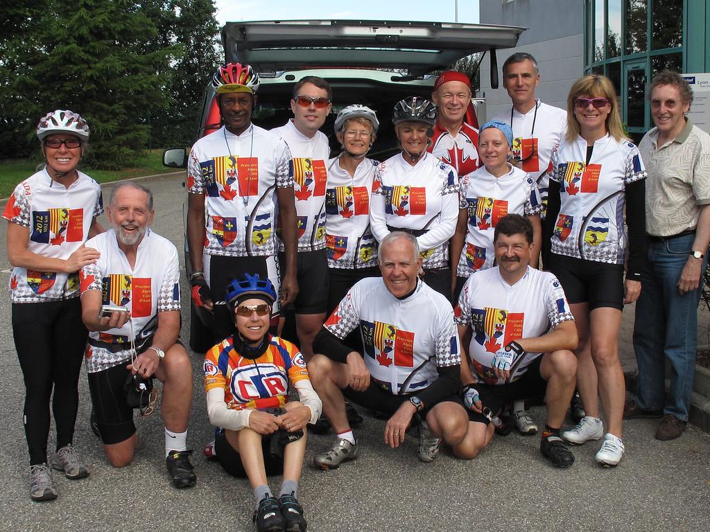2012 France Cycling Trip