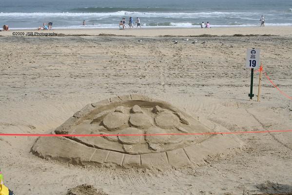 2008 Neptune Festival Sand Castles
