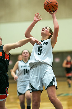 Kaneland girls basketball vs Sandwich