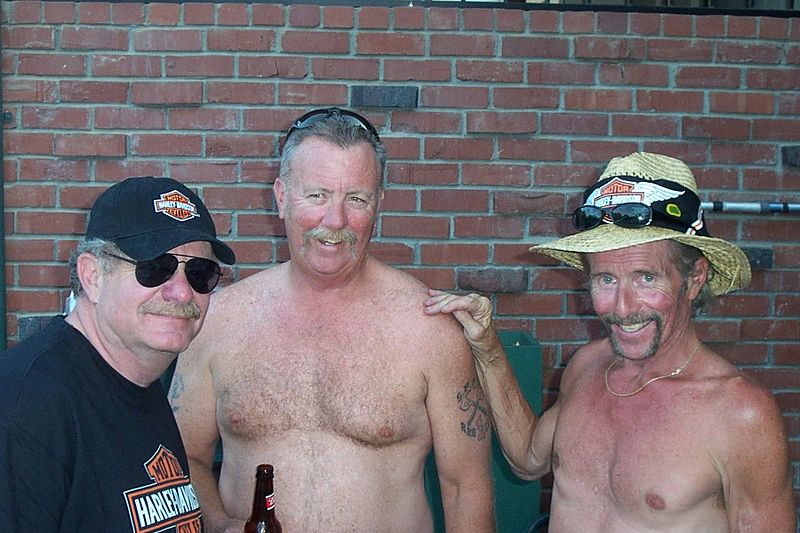 Howard, Steve & Uncle Greg