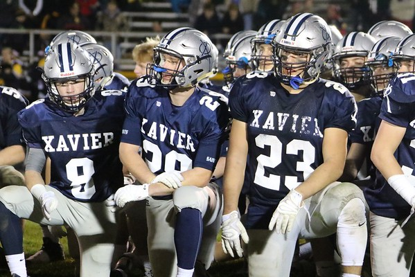 State Quarter Final  Football:  Xavier vs. Waverly-Shellrock -Post Game Photos 11/4/16