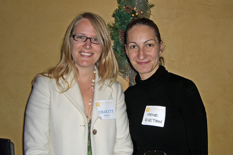 Charity Wagner (Urban Planning Partners) and Irene Avetyan (URS)