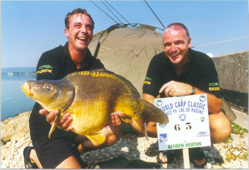 WCC99-Pic - Korda with fish