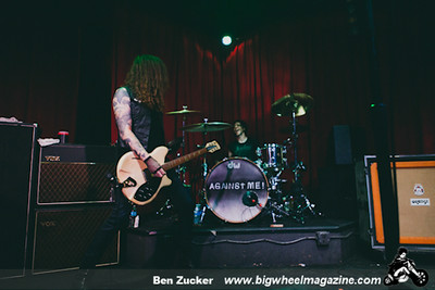 Against Me - Creepiod - Venus de Mars - at SLO Brew - San Luis Obisbo, CA - August 17, 2014