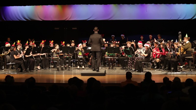 2019.12.12 DHS Band Holiday Concert