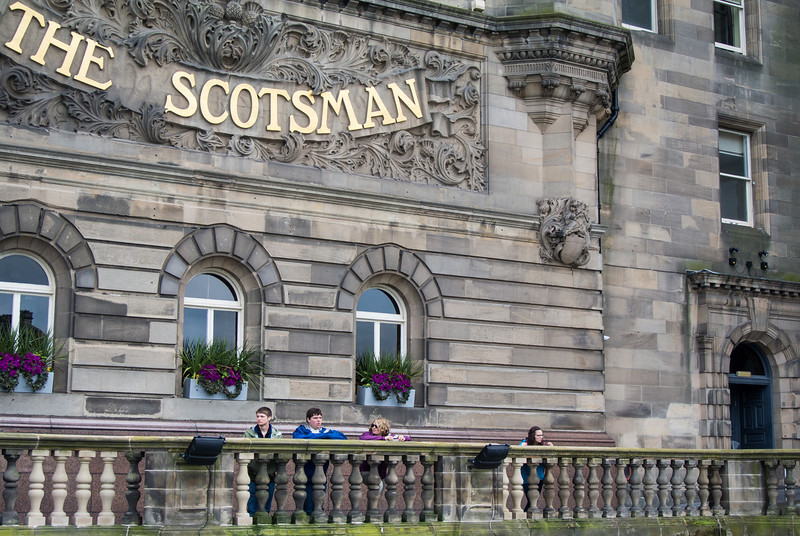 Our Edinburgh hotel was the former home of the Scotsman Newspaper