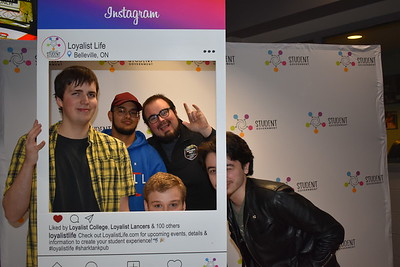Winter Orientation Photo Booth