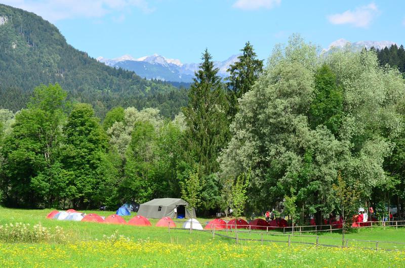 Boy Scouts Camp. Bohinjska Bistrica