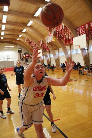 MS 8th Girls Basketball vs Chewelah 3-10-20