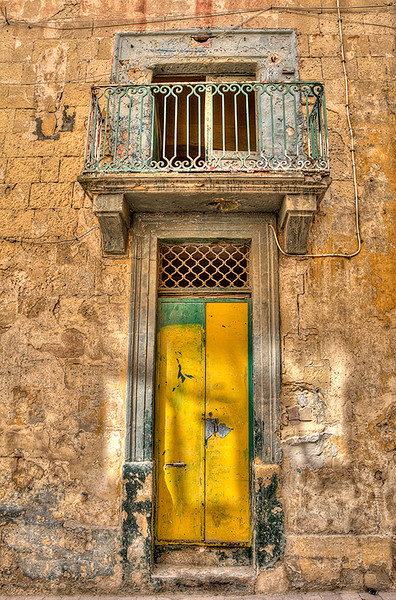 Behind the Yellow Door
