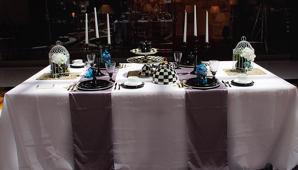 Mad Hatter Table Party