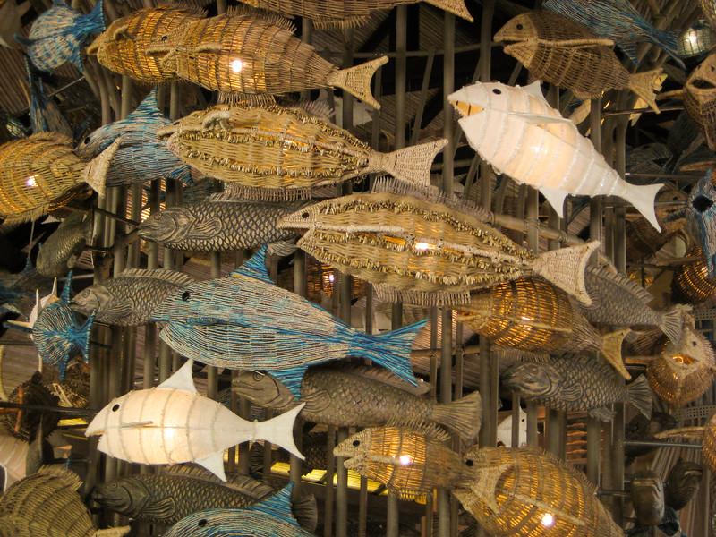 Fishy decorations
