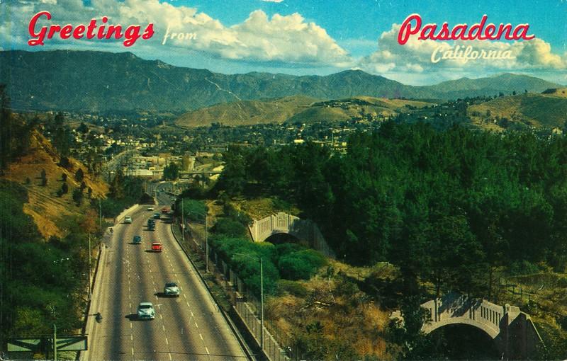 Pasadena Freeway Greetings