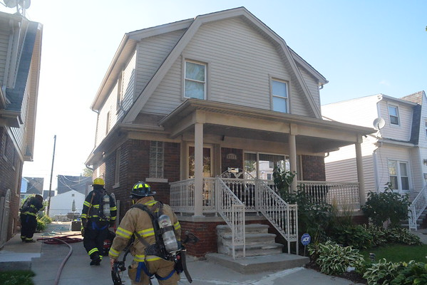 Dearborn - Horger street - Basement fire