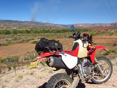 Jemez Mtns. - Ponderosa-Cat Mesa-Dome Rd. DS Ride  9-25-17