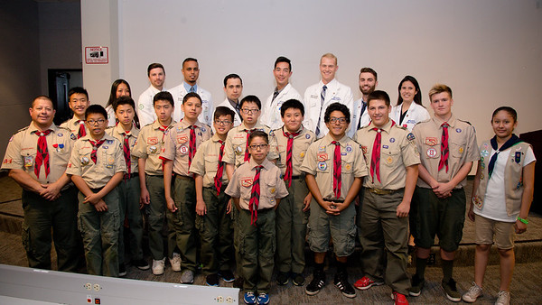 COMP students provide platform for scouts to earn badges