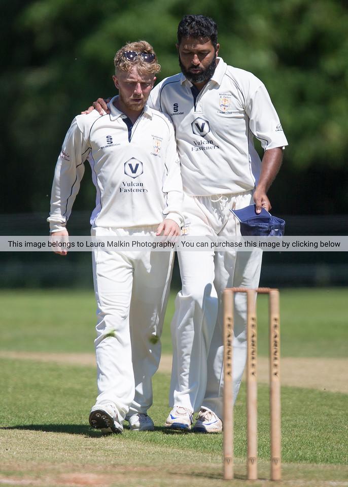 County Cricket- NSSC - Eccleshall 1XI v Moddershall 1XI