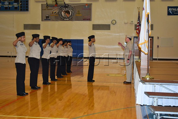 NJROTC Pass in Review 2/13/19